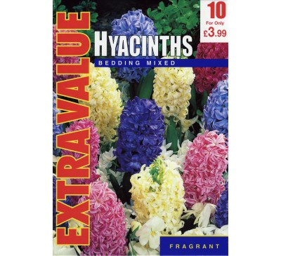 Extra Value Hyacinths Bedding Mixed