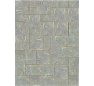 Abbey Paving Random Patio Kit 10.22sq mtr Antique
