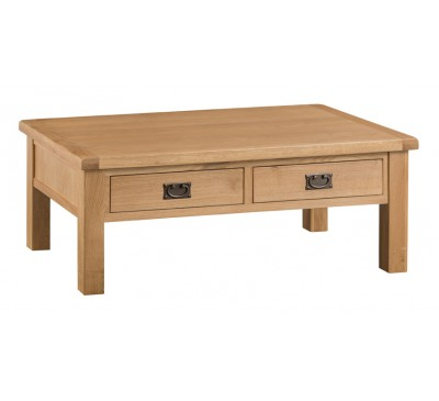 Hawkshead Country Oak Large Coffee Table