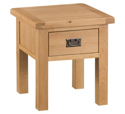 Hawkshead Country Oak Lamp Table