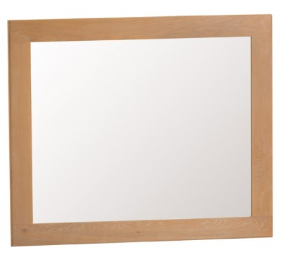 Hawkshead Country Oak Large Wall Mirror