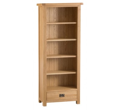 Hawkshead Country Oak Medium Bookcase
