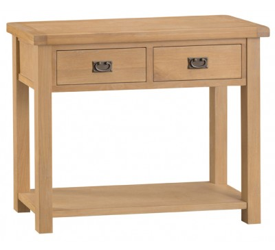 Hawkshead Country Oak Medium Console Table
