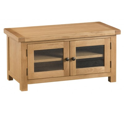 Hawkshead Country Oak Standard TV Unit