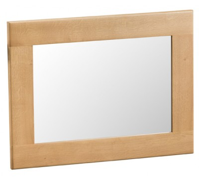Hawkshead Country Oak Small Wall Mirror