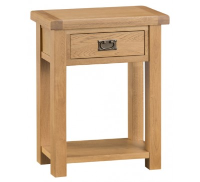 Hawkshead Country Oak Telephone Table