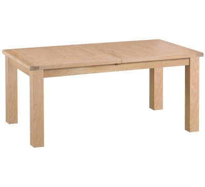Hawkshead Lime Wash Oak 1.7m Butterfly Extending Table