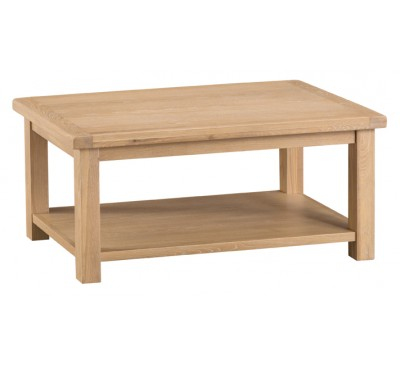 Hawkshead Lime Wash Oak Coffee Table