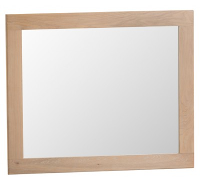 Hawkshead Lime Wash Oak Large Wall Mirror