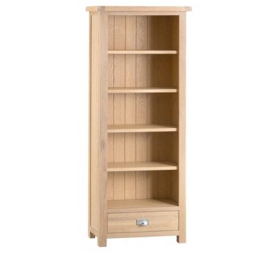 Hawkshead Lime Wash Oak Medium Bookcase