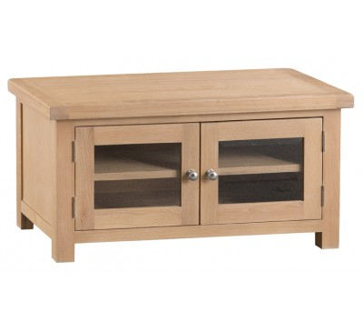 Hawkshead Lime Wash Oak Standard TV Unit