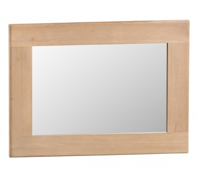Hawkshead Lime Wash Oak Small Wall Mirror