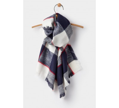 Joules Hayford Check Scarf
