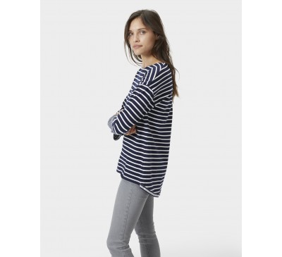 Joules Bay Hope French Navy Stripe Jersey Top