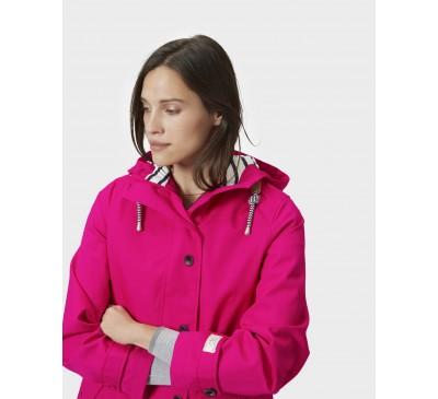 Joules Coast Marine Pink Waterproof Hooded Jacket