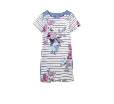 Joules Imelda Stripe Woven Dress