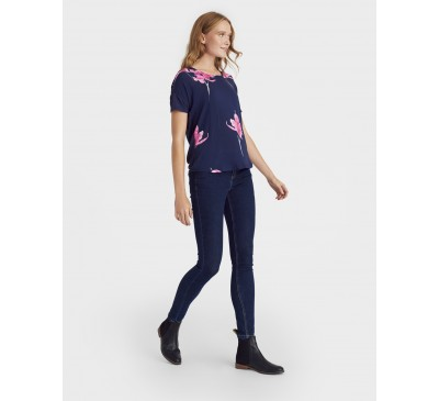 Joules Zoe Jersey Back Top