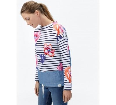 Marianafloral Scoopneck Sweatshirt