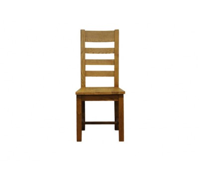 Keswick Ladder Back Chair Wooden Seat