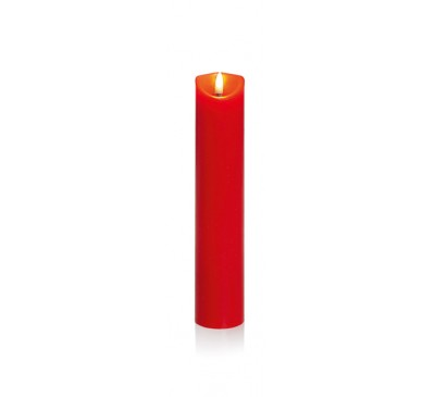 25x5cm Red Pillar Candle