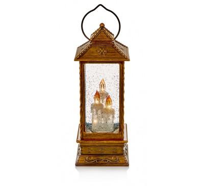 27cm Gold Lantern Water Spinner