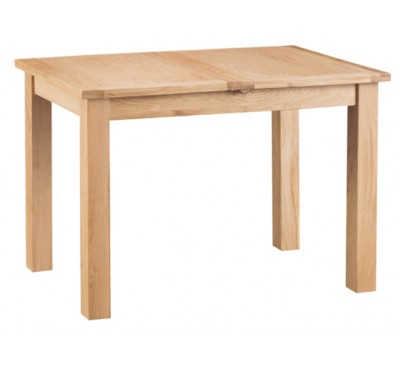 Calbeck Light Oak 1.15m Extending Butterfly Table 115/160 x 75x78cm