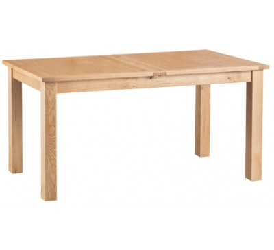Calbeck Light Oak 1.6m Extending Butterfly Table 160/205 x80x78cm