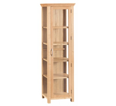 Calbeck Light Oak Display Cabinet