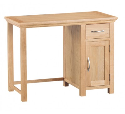Calbeck Light Oak Desk 100x45x76cm