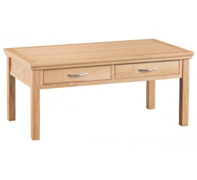 Calbeck Light Oak Large Coffee Table 120x60x45cm