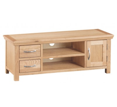 Calbeck Light Oak Large TV Unit 120x38x45cm