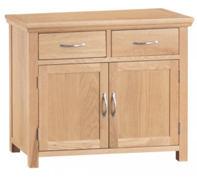 Calbeck Light Oak 2 Door Sideboard 95x38x80cm