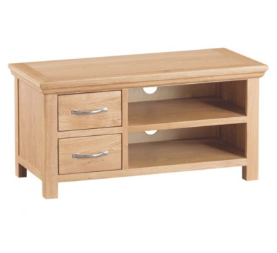 Calbeck Light Oak Standard TV Unit 90x38x45cm