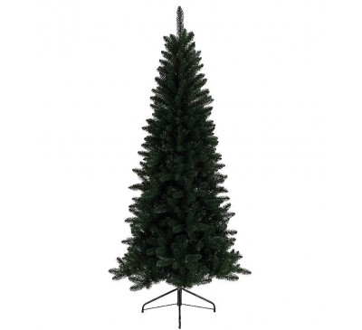 Slimline Lodge Artificial Pine Christmas Tree