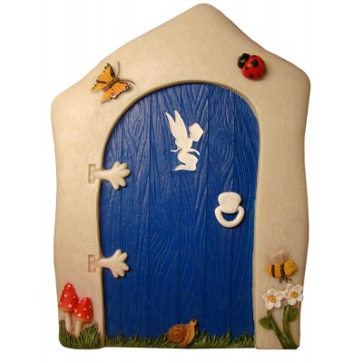 Animated Blue Fairy Door