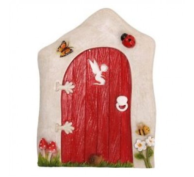 Animated Red Fairy Door