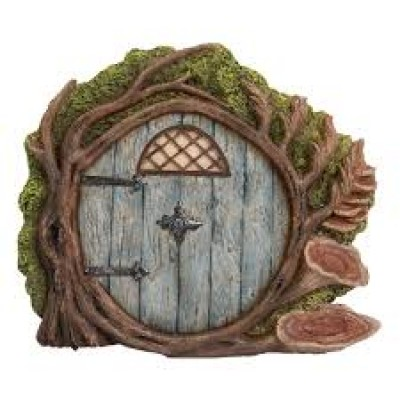 Blue Burrow Fairy Door