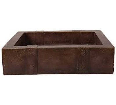 Bronze Metal Chest Planter