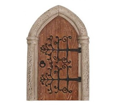 Gothic Wooden Fairy Door