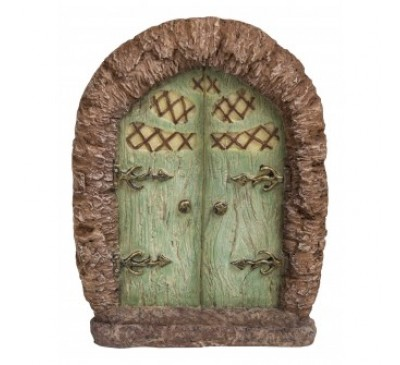 Green Arbor Fairy Door