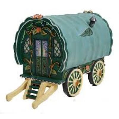 Green Gypsy Caravan