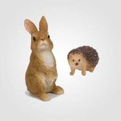 Hedgehog & Rabbit