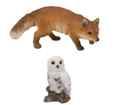 Prowling Fox & Owl