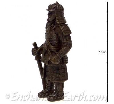 Samurai Bronze Statue