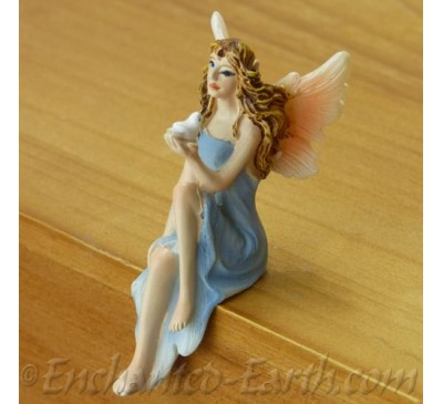 Sitting Blue Fairy