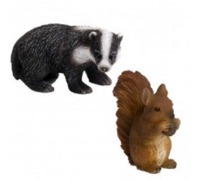 Squirrel & Badger