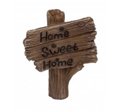 Woodland Home Post Sign