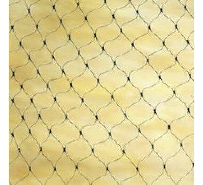 Rope Form Netting 30mm Black