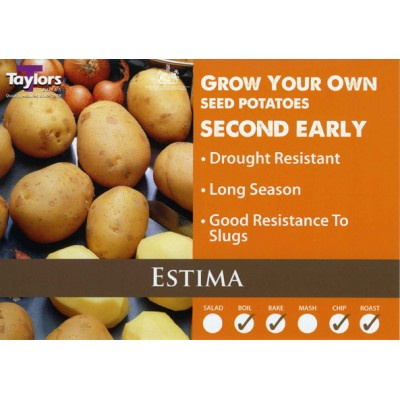 Estima 2 kg Seed Potatoes