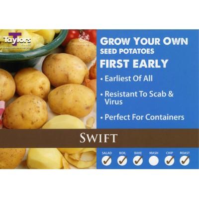 Swift 2 kg Seed Potatoes